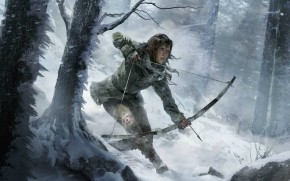 Rise of The Tomb Raider Bow wallpaper