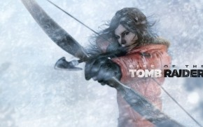 Lara Croft Rise of The Tomb Raider Bow and Arrow wallpaper