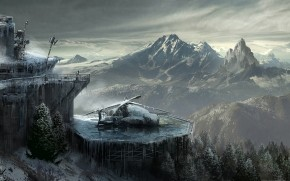 Lara Croft Rise of The Tomb Raider Concept wallpaper