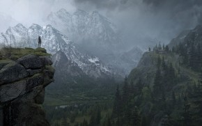 Rise of the Tomb Raider Landscape wallpaper