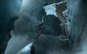 Lara Croft Rise of The Tomb Raider In Game wallpaper