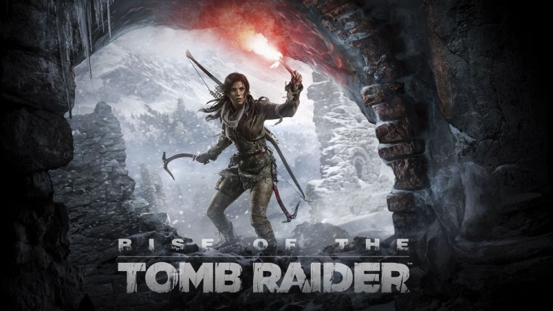 Rise Of The Tomb Raider Poster Hd Wallpaper Wallpaperfx