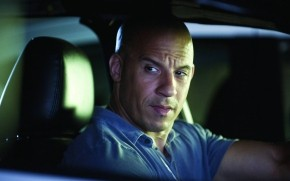 Vin Diesel in Car wallpaper