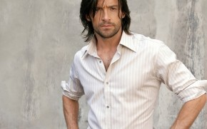 Hugh Jackman Long Hair wallpaper