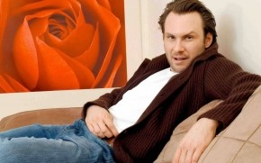 Christian Slater Pose wallpaper