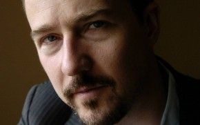 Edward Norton Close Up wallpaper