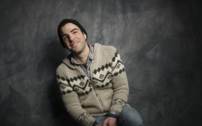 Zachary Quinto Smiling