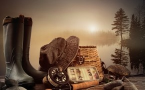 Fishing Equipment wallpaper