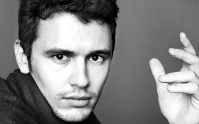 James Franco Monochrome wallpaper