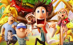 Cloudy with a Chance of Meatballs 2 Cast wallpaper