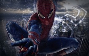 Spiderman Pose wallpaper