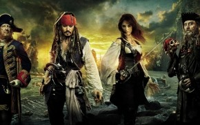 Pirates of the Caribbean Characters wallpaper