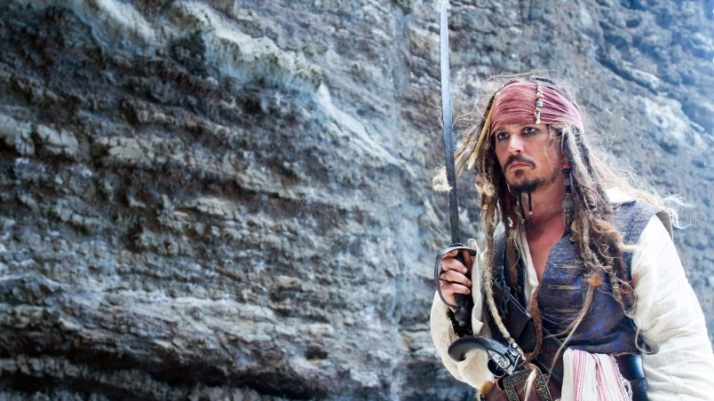 Jack Sparrow Pose HD Wallpaper