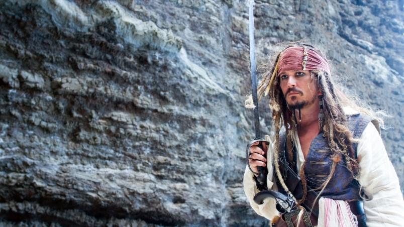Jack Sparrow Pose Hd Wallpaper Wallpaperfx
