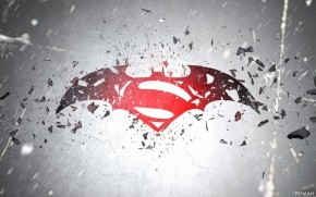 Batman vs Superman Awesome Logo wallpaper