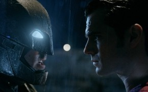 Batman vs Superman Face to Face wallpaper