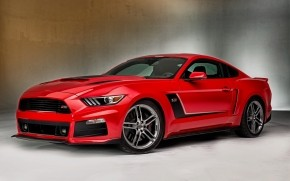 Gourgeous Red Ford Mustang