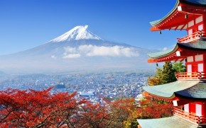 Fuji Mount in Japan wallpaper