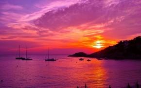 Sunset in Ibitza