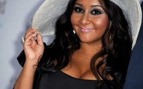 Nicole Polizzi White Hat wallpaper