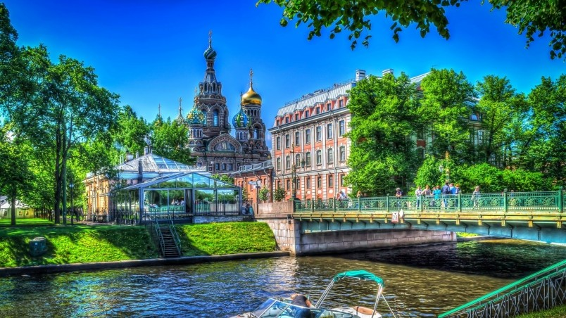 Saint Petersburg HDR  wallpaper