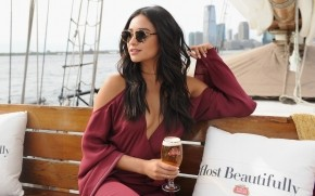 Shay Mitchell Stella Artois wallpaper