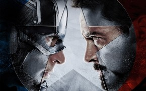 Captain America vs Iron Man  wallpaper
