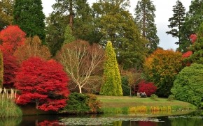 Sheffield Park Garden wallpaper