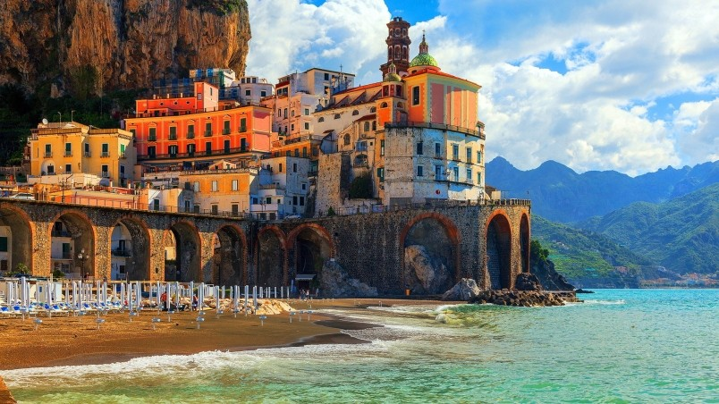 Amalfi Coast Positano wallpaper
