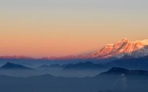 Minimal Mountains Tops