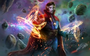 Doctor Strange 2016 Movie Fanart wallpaper