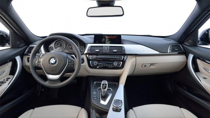 2016 Bmw 3 Series Interior Hd Wallpaper Wallpaperfx