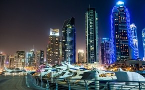 Dubai Marina View wallpaper