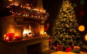 Christmas Home Decorations wallpaper