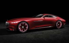 2016 Vision Mercedes Maybach 6 Side View