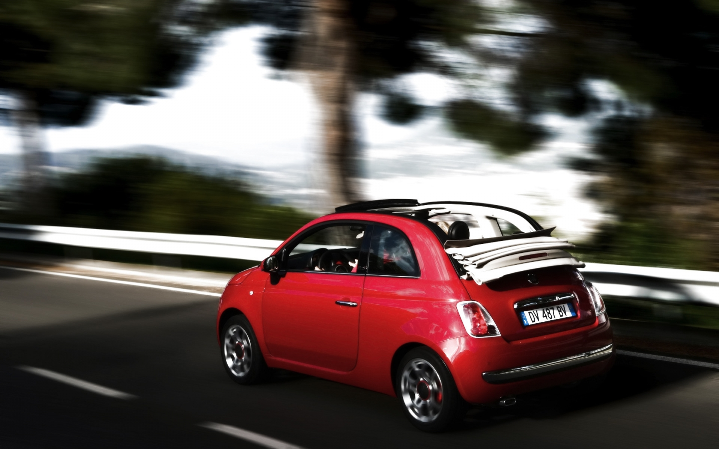2010 Fiat 500C Speed for 1440 x 900 widescreen resolution