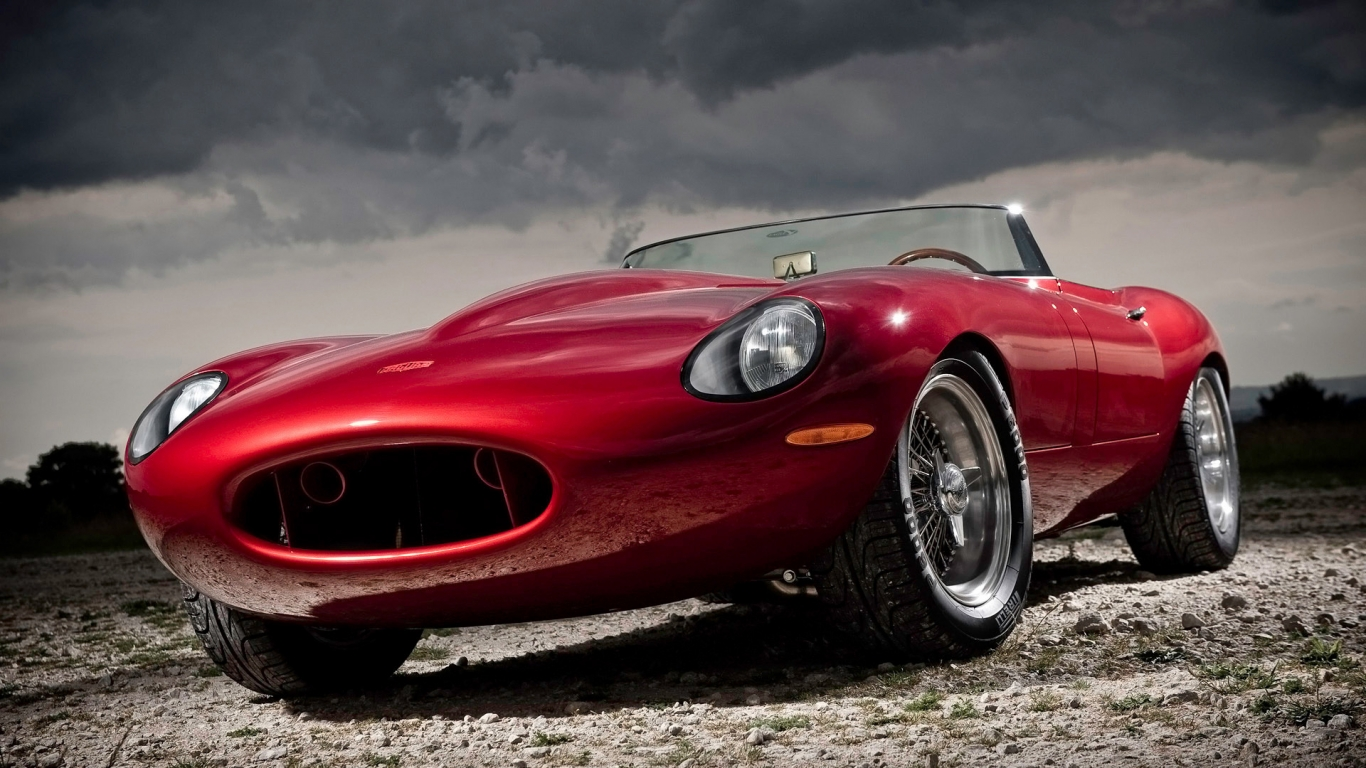2011 Eagle Jaguar E Type Speedster for 1366 x 768 HDTV resolution