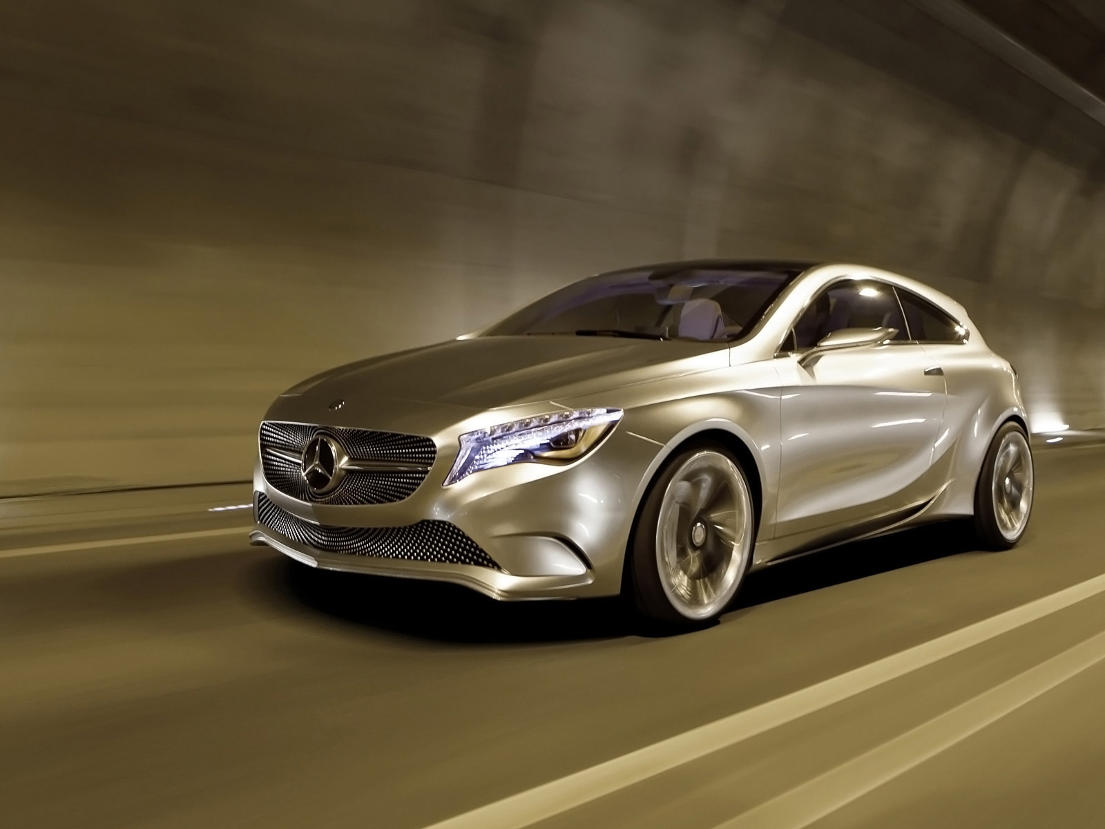 2011 Mercedes Benz Concept A for 1600 x 1200 resolution