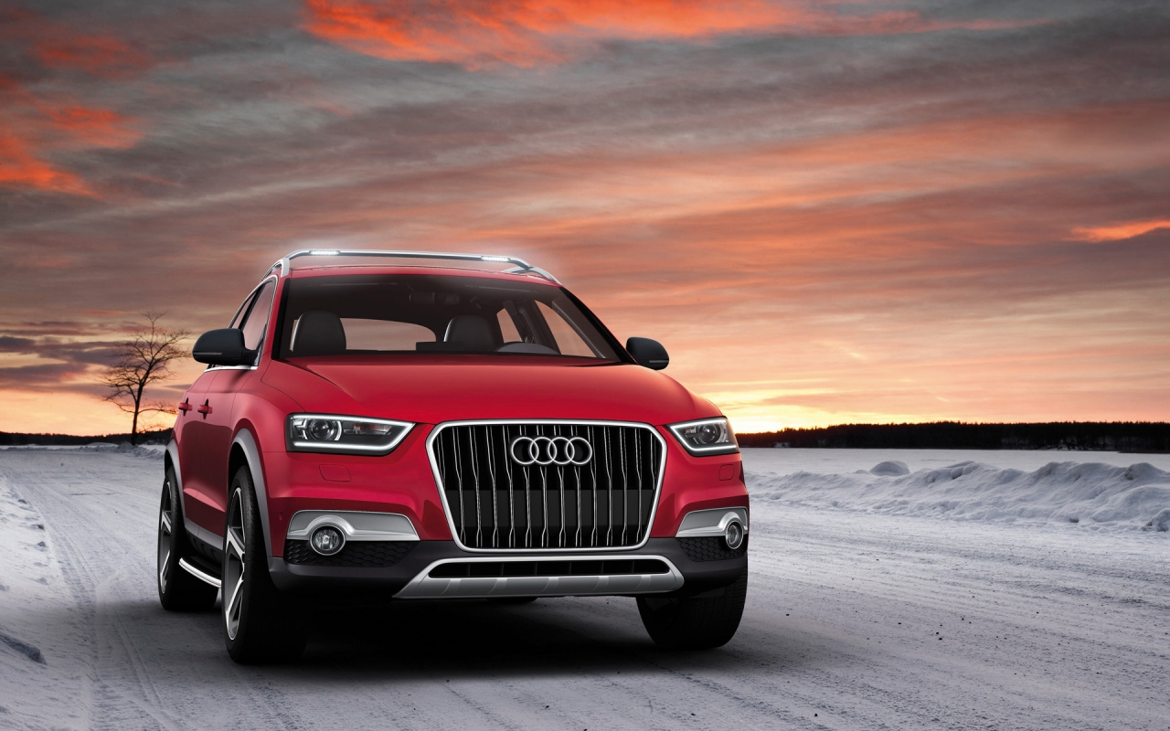 2012 Audi Q3 Vail Front for 1280 x 800 widescreen resolution