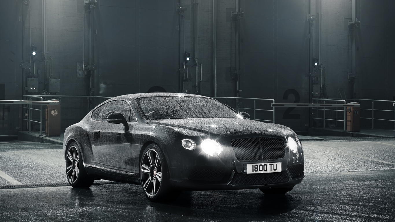2012 Bentley Continental GT V8 for 1366 x 768 HDTV resolution
