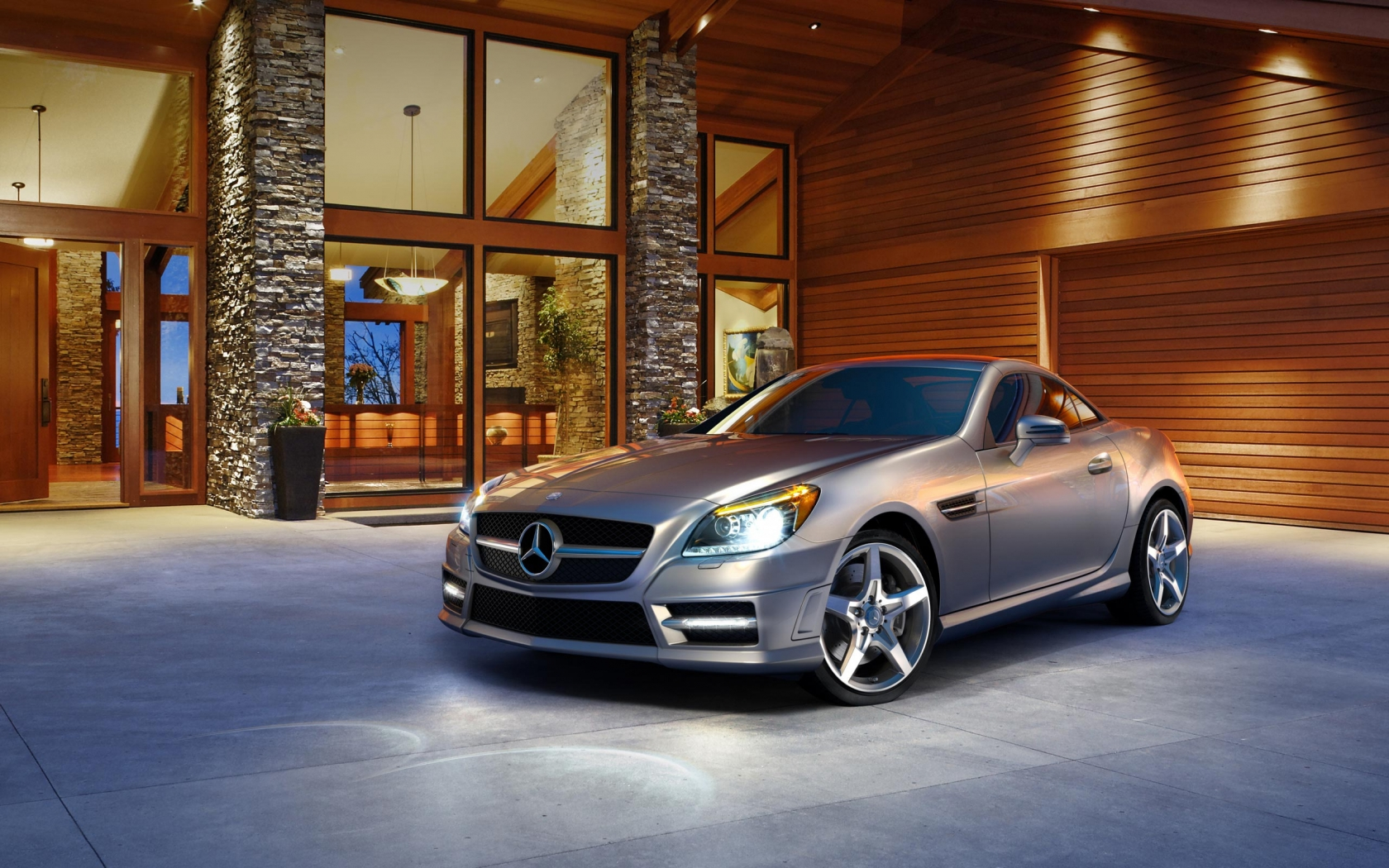 2012 SLK Class Roadster for 1680 x 1050 widescreen resolution
