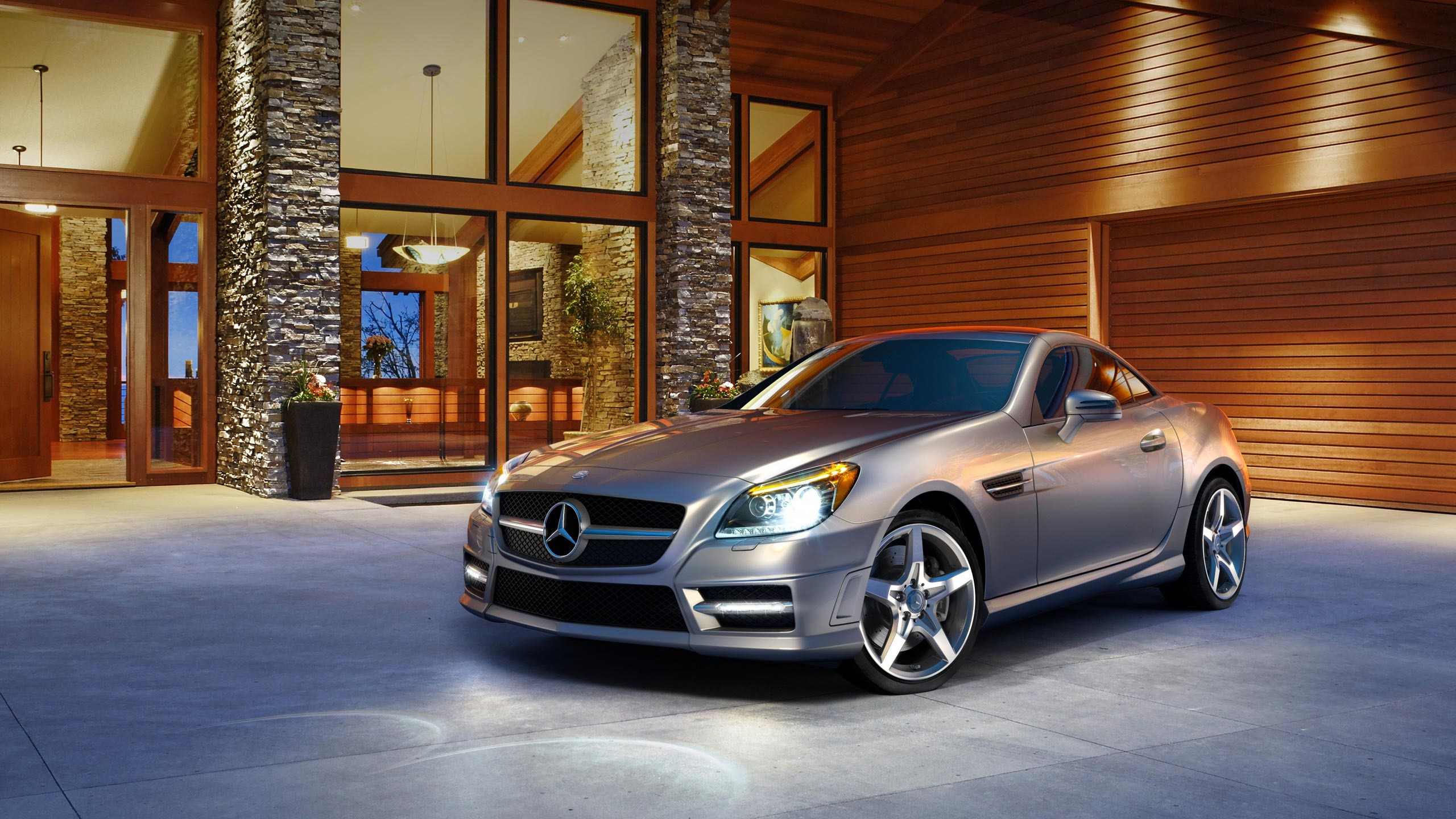 2012 SLK Class Roadster for 2560x1440 HDTV resolution