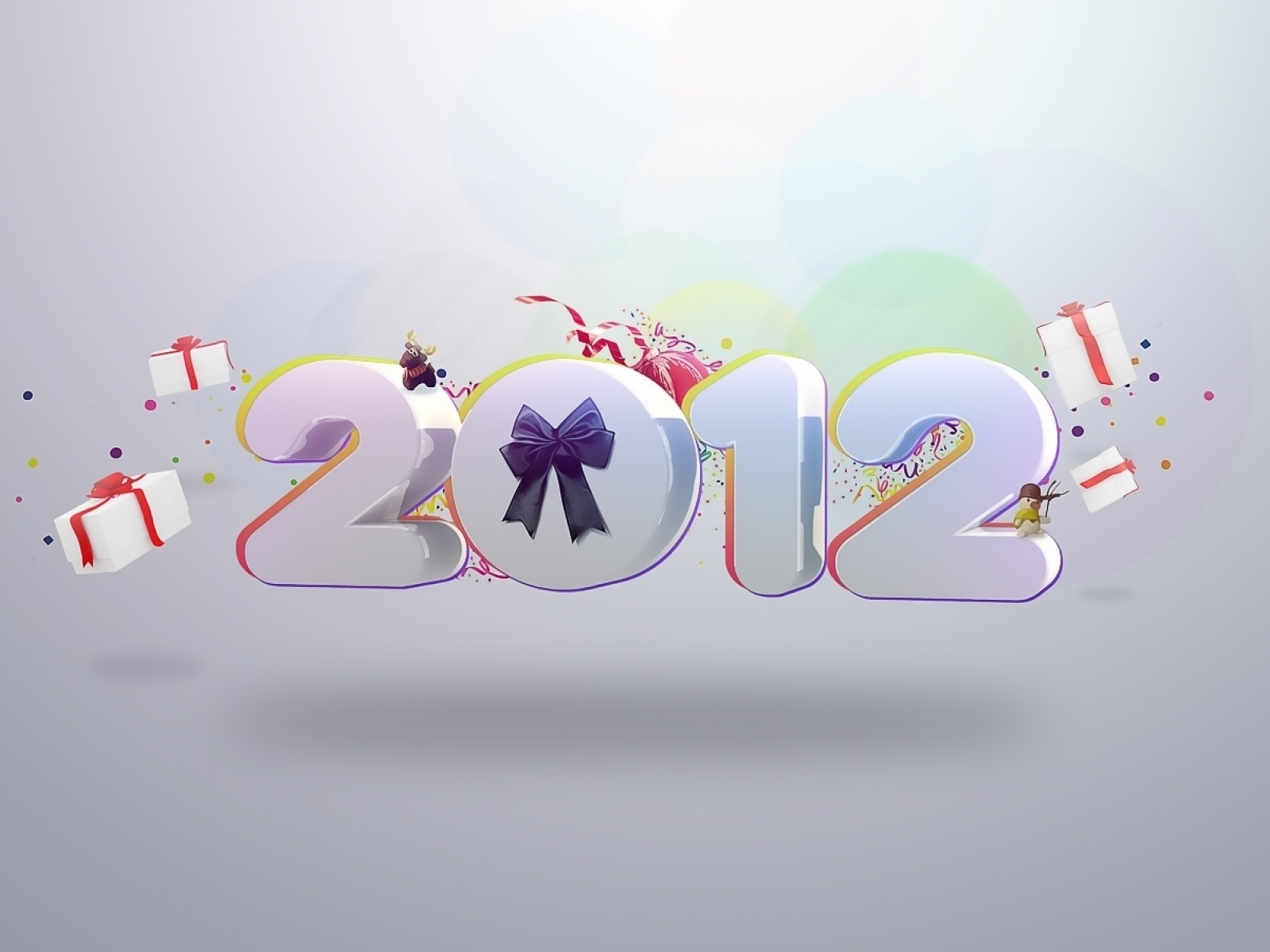 2012 Year Celebration for 1600 x 1200 resolution