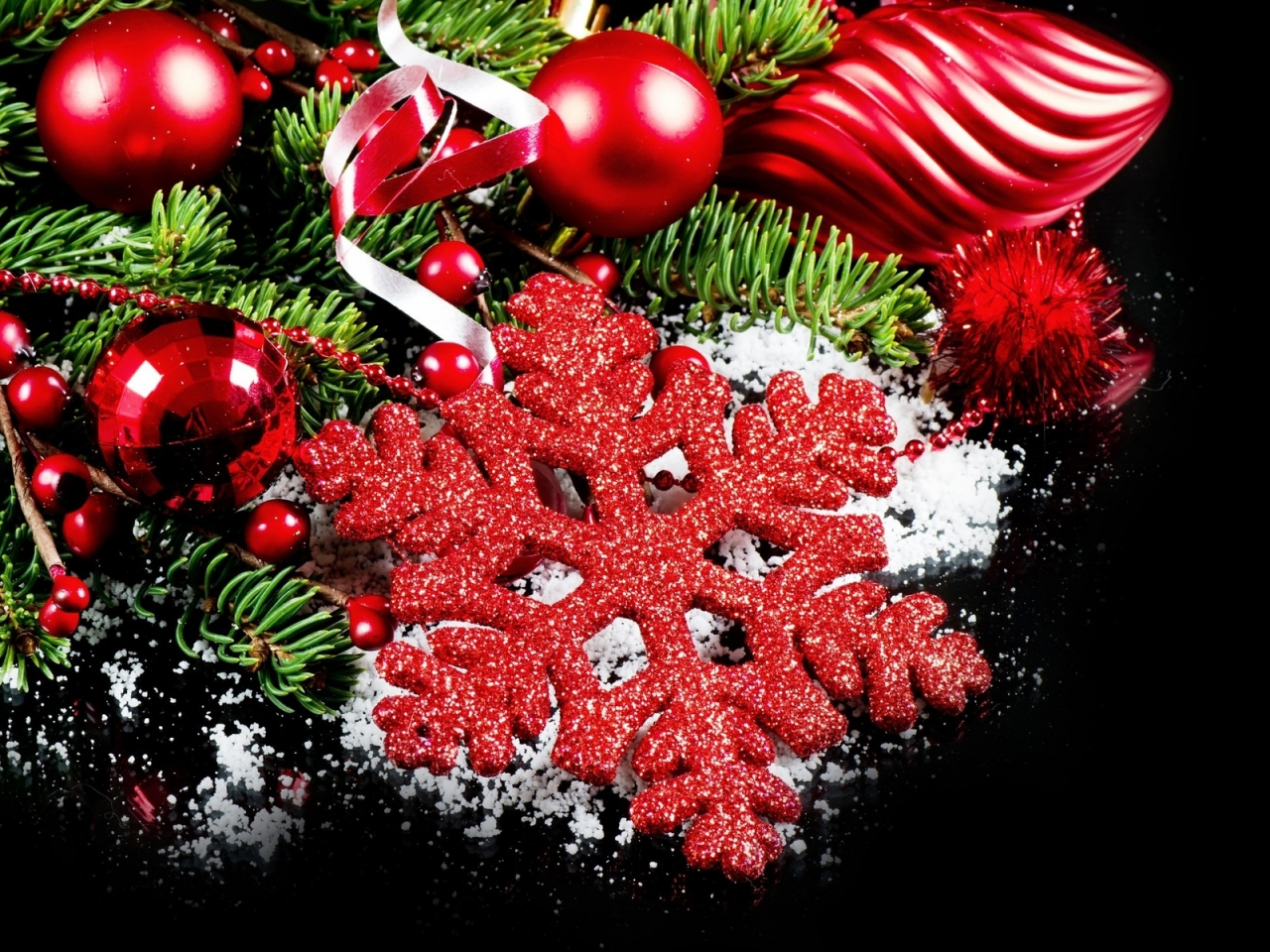 2014 Beautiful Christmas Decorations  for 1280 x 960 resolution