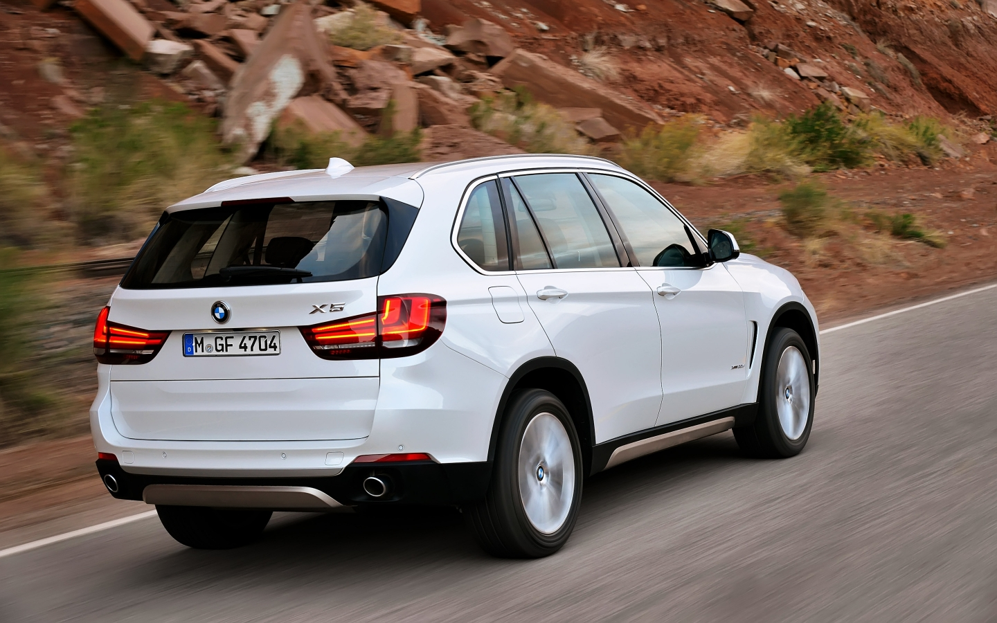 2014 BMW X5 Rear for 1440 x 900 widescreen resolution
