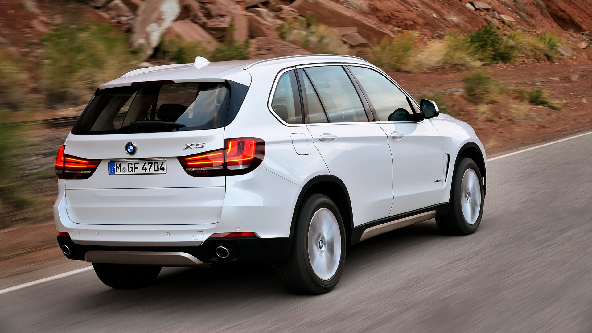 2014 BMW X5 Rear for 1920 x 1080 HDTV 1080p resolution