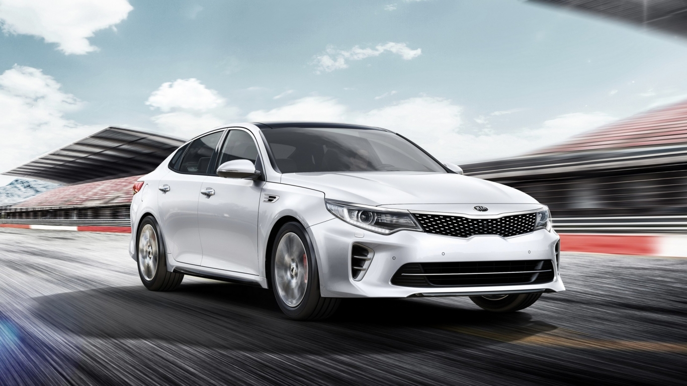 2016 Kia Optima GT for 1366 x 768 HDTV resolution
