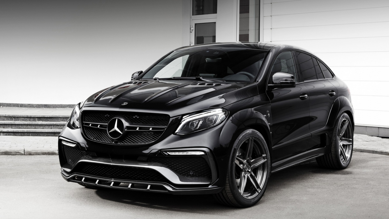 2016 Mercedes-Benz GLE-class for 1366 x 768 HDTV resolution