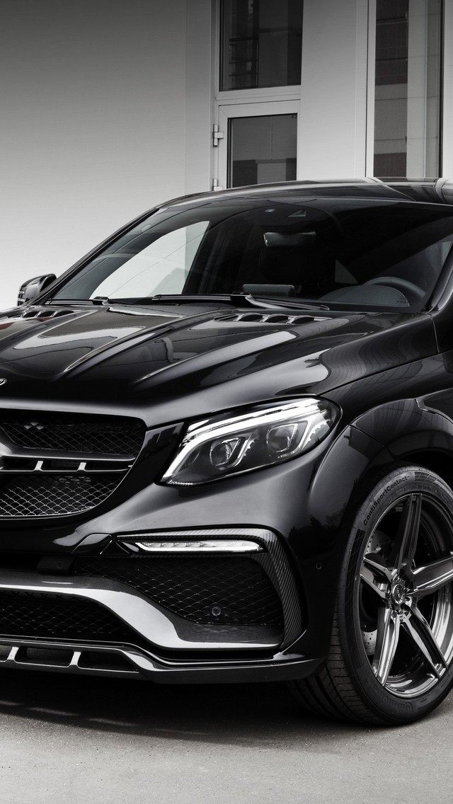 2016 Mercedes-Benz GLE-class for 640 x 1136 iPhone 5 resolution