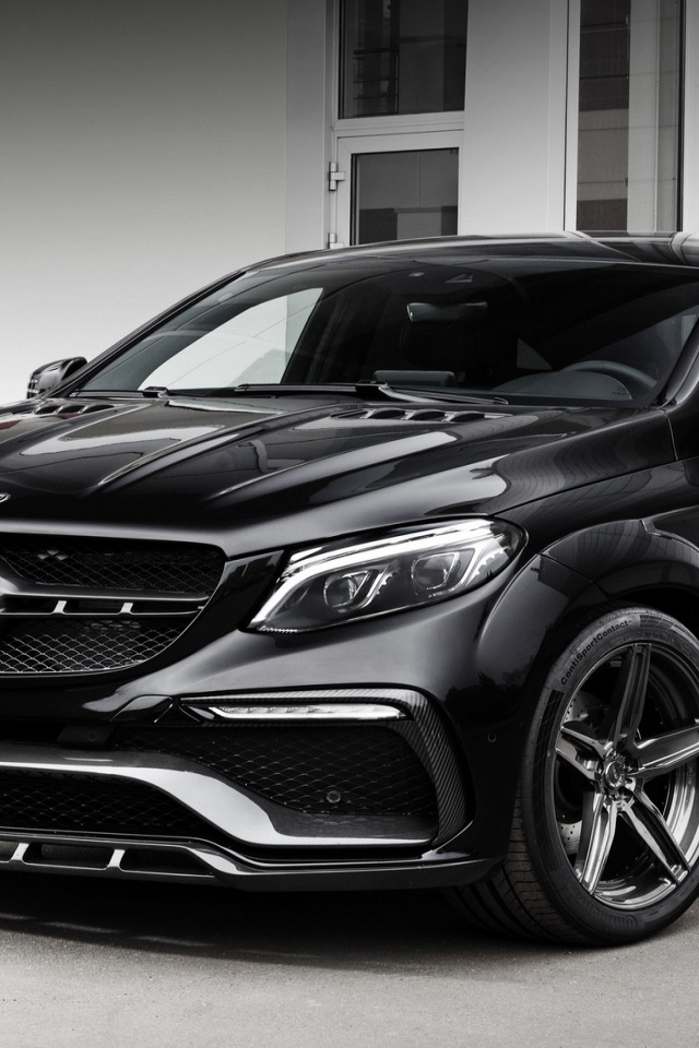 2016 Mercedes-Benz GLE-class for 640 x 960 iPhone 4 resolution